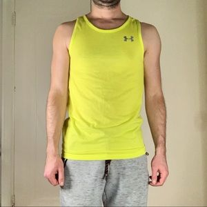 Under Armour Fitted Athletic Heat Gear Tank Top